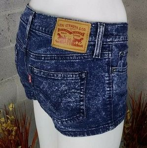 Levi Strauss Womens Jeans Shorts